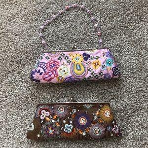 Handbags - 2 NYC Sequin Clutch Purse